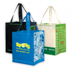 Reusable Bags Like Recyced Laminated Totes Help with CSR Efforts