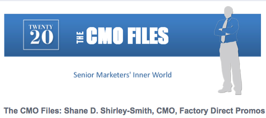 IDG Features Shane Shirley Smith in CMO Files