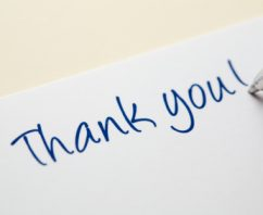 Thank You for All You Do! Now Tell Us How We Can Help You
