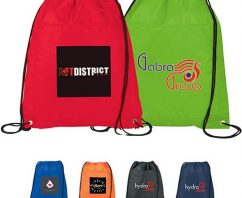 Eco-Merits of Marketing with Recycled Drawstring Bags