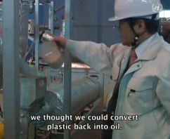 Making Fuel from Plastic Is Not Science Fiction