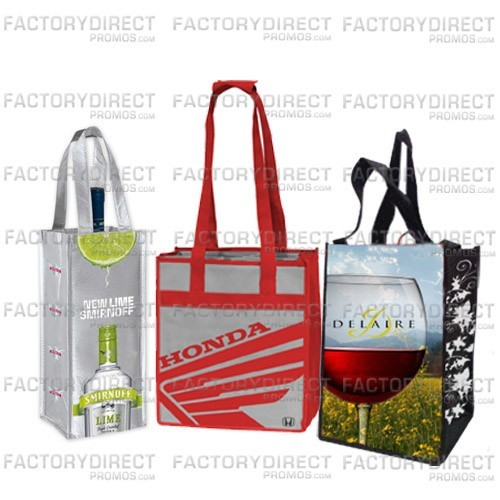Reusable wine totes are a must give green option