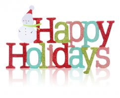 Happy Holidays and Thank You for Your Commitment to Going Green