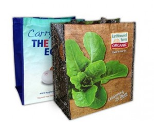 Laminated Grocery Bags Carry Your Marketing Message Far and Wide In Eco-Friendly Style