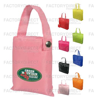Market Your Brand with Our Customizable Snapable Eco Folding Totes