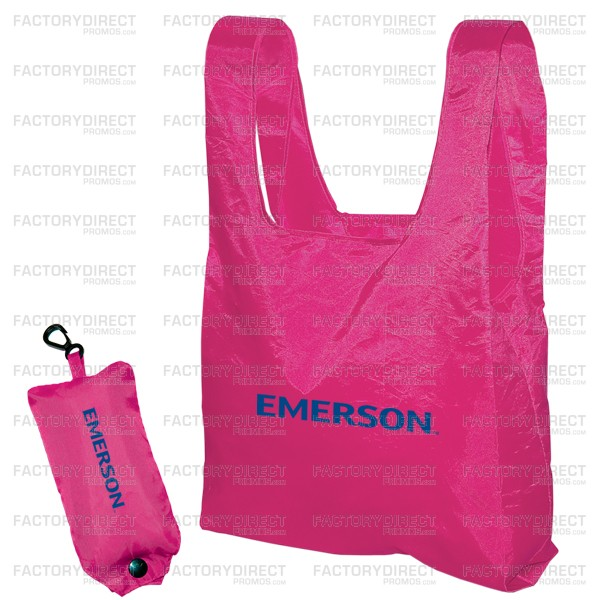 Styleable Folding Totes Pink