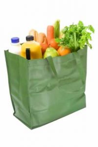 What Are REysable Grocery Bags Made From?