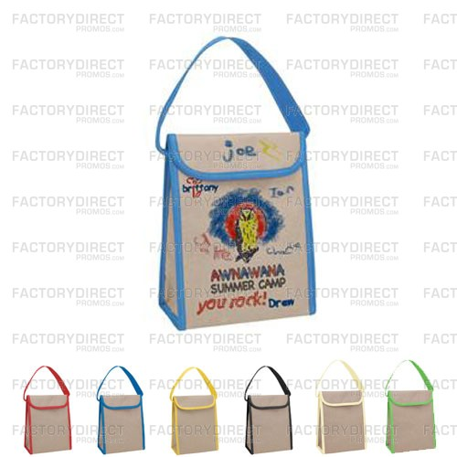 Eco-Friendly Reusable Lunch Bags Kids Can Customize Are A Favorite of Both Parents and Kids and Make a Great Fundraiser