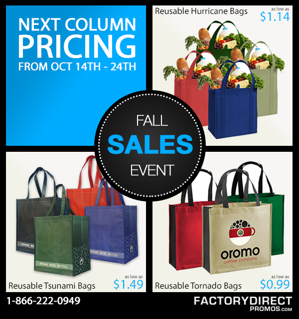 October Eco-Special for Your Marketing