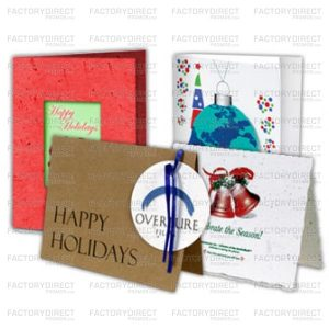 Here are three ways to use seed paper holiday cards to spread some holiday cheer along with your brand's marketing message while also hitting a sentimental chord with your clients.