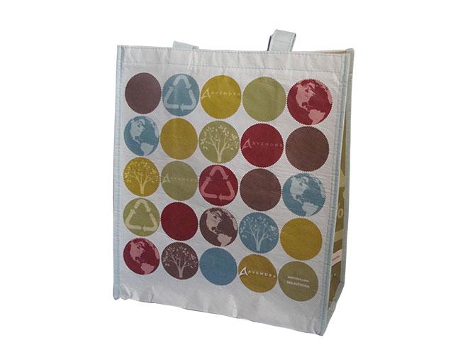 Custom Reusable Grocery Bag with company logo and branding - Avendea