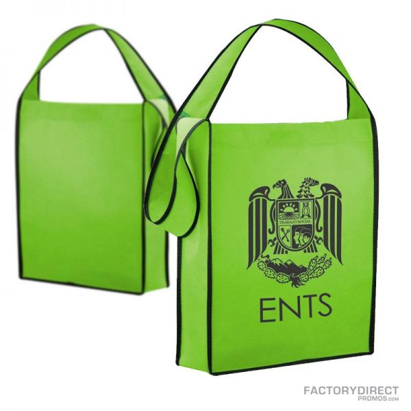 Lime Green customized messenger bags