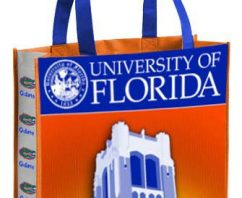 Custom Reusable Bags Make Students, Alumni and Fans Into Walking Billboards