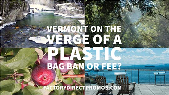 Vermont on The Verge of a Plastic Bag Ban or Fee
