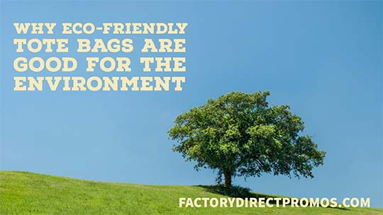 Why Eco-Friendly Tote Bags Are Good for The Environment