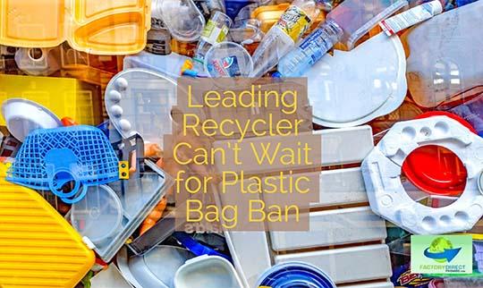 Leading Recycler in Boston Praises Plastic Bag Bans