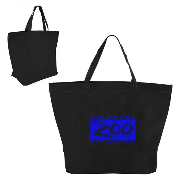 Economy Shopper Bag - Black