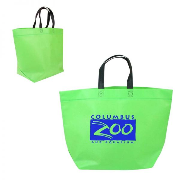 Economy Shopper Bag - Lime Green
