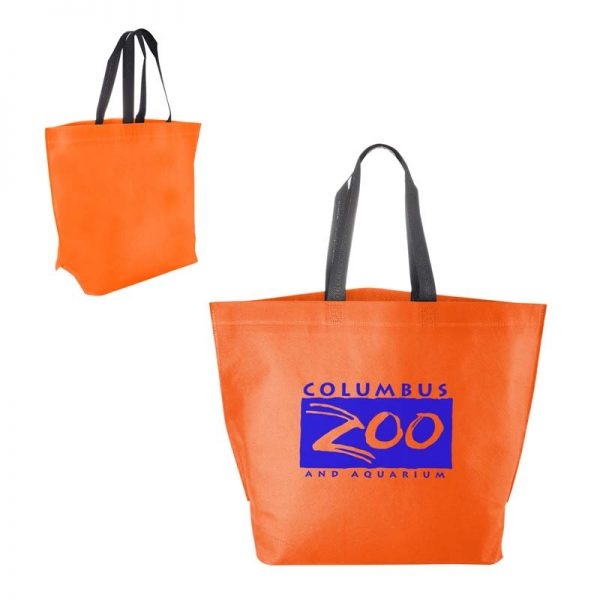 Economy Shopper Bag - Orange