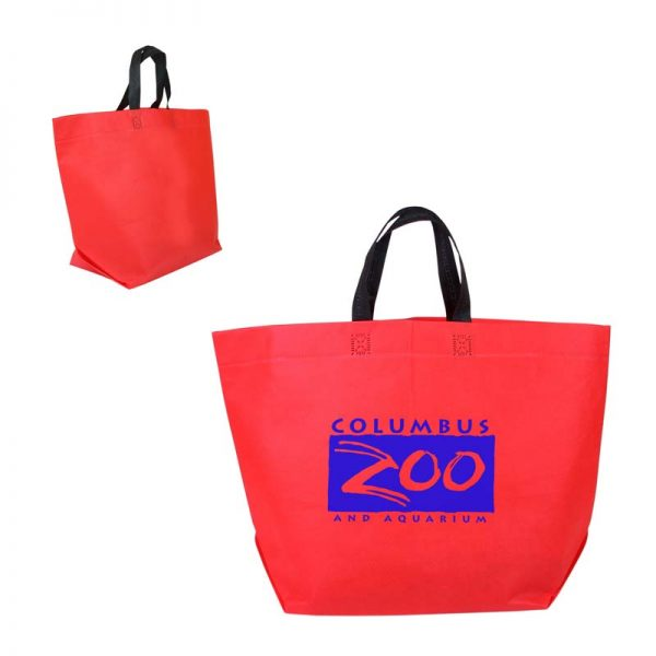 Economy Shopper Bag - Red