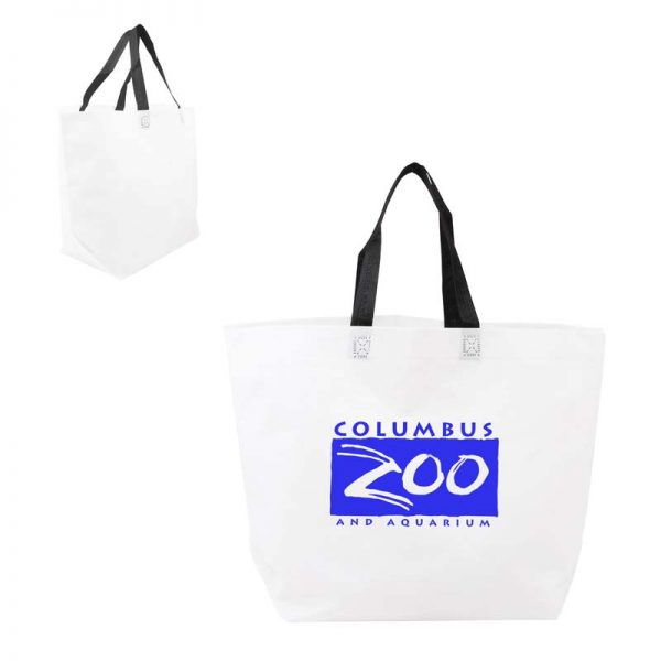 Economy Shopper Bag - White