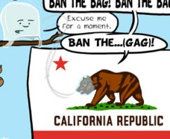 California on the Verge of Banning Single Use Plastic Bags