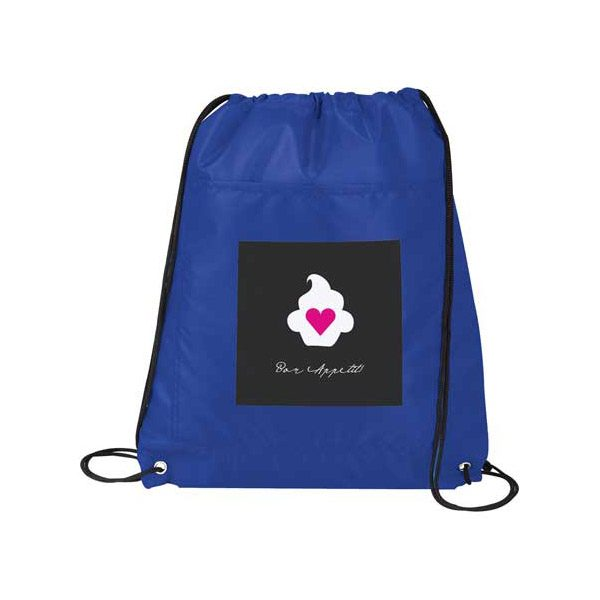 Insulated Drawstring Bags - Royal Blue