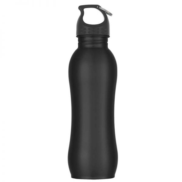 Promotional Black Stainless Steel Water Bottle available in Bulk