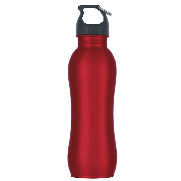 Promotional Red Stainless Steel Water Bottle available in Bulk