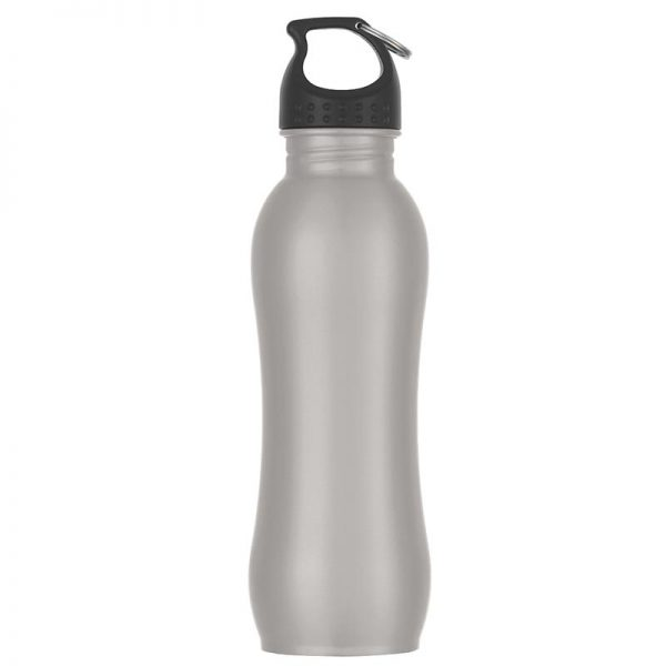 Promotional Silver Stainless Steel Water Bottle available in Bulk