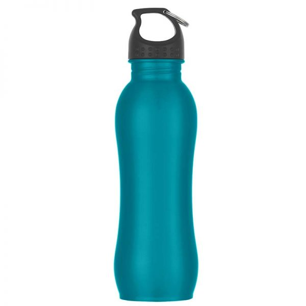 Promotional Teal Stainless Steel Water Bottle available in Bulk