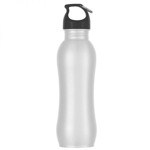 Promotional White Stainless Steel Water Bottle available in Bulk