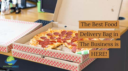 The Best Food Delivery Bag in The Business is HERE!
