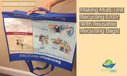 Making Multi-Unit Recycling Rates Soar with Reusable Recycling Bags