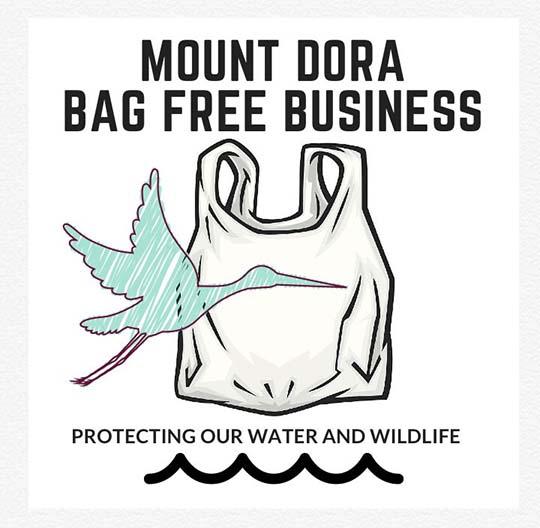 Girl Scout Zoé Mueller Helps Mount Dora, Florida Go #BagFree