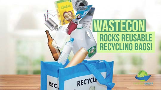 WASTECON Rocks with Industry Leaders, Innovation and Reusable Recycling Bags!