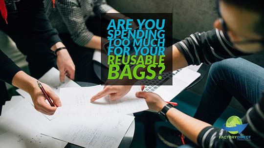 Are You Spending Too Much for Your Reusable Bags?