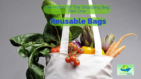 The History of The Shopping Bag: Part One - Reusable Bags