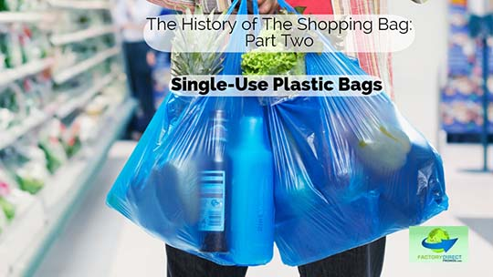 The History of Single-Use Plastic Bags