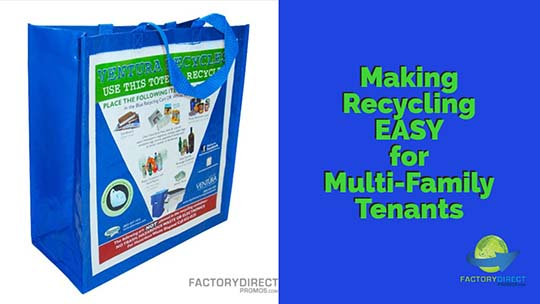 Making Recycling EASY for Multi-Family Tenants