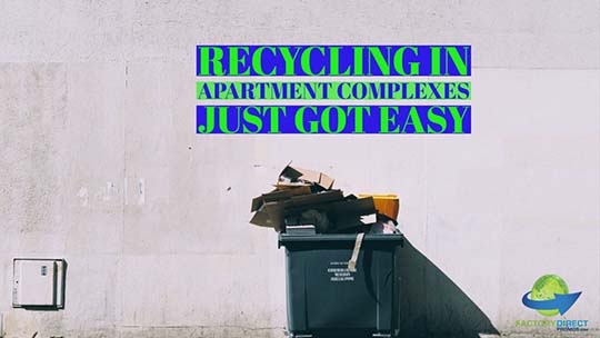 Recycling in Apartment Complexes Just Got Easy