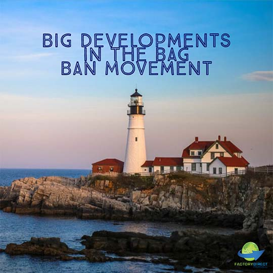 Plastic Bag Ban in Maine Begins in 2020