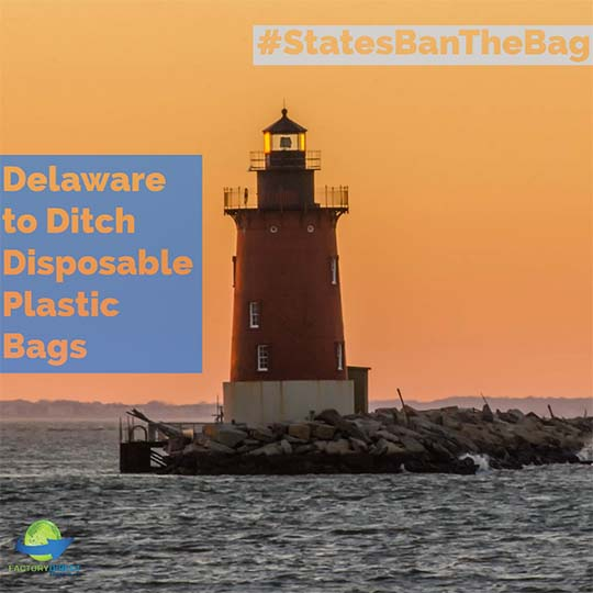 Delaware to Ditch Disposable Plastic Bags