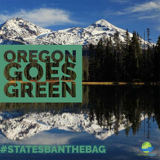 Bags Banned in Oregon