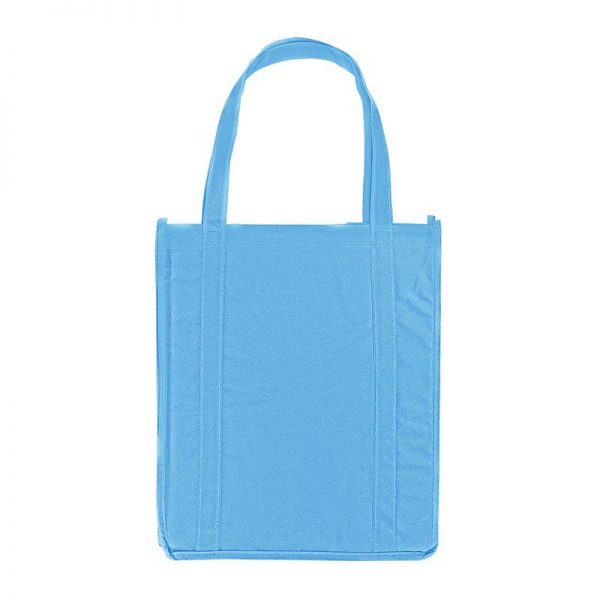 Blue Carolina promotional grocery tote