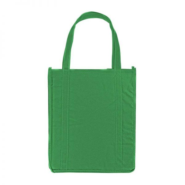 Green Kelly promotional grocery tote