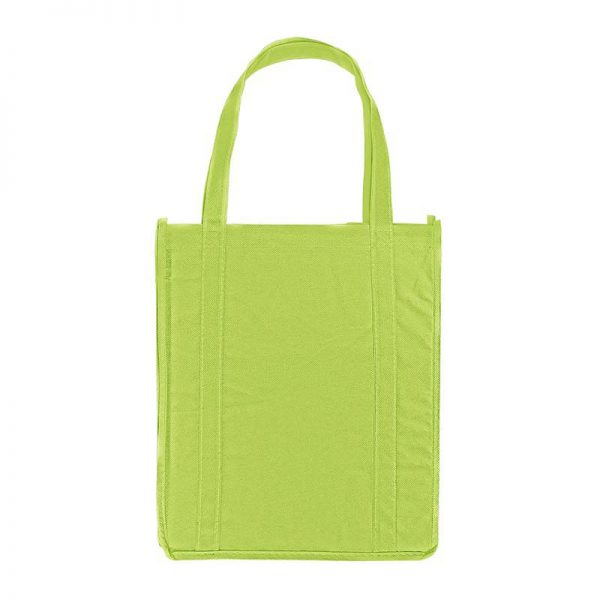 Green Lime promotional grocery tote