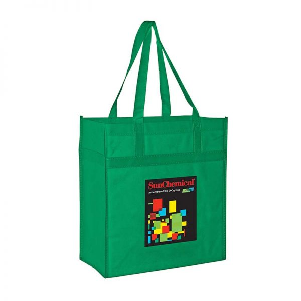 Reusable Eco Grocery Bag - Kelly Green