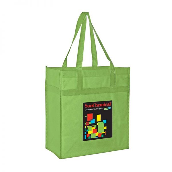Reusable Eco Grocery Bag - Lime