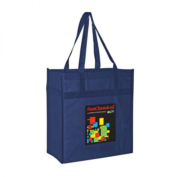 Reusable Eco Grocery Bag - Navy